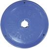 Диск пластиковый 2,5 кг Inter Atletika цветной - 26 мм - фото 1