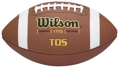 Мяч для американского футбола Wilson TDS Composite HS Pattern SS15