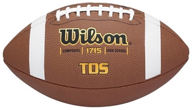 Фото 1 к товару Мяч для американского футбола Wilson TDS Composite HS Pattern SS15