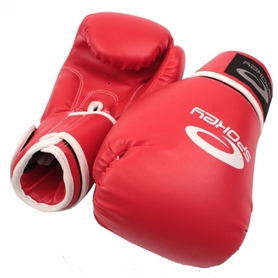 Перчатки боксерские Spokey Benten красные
