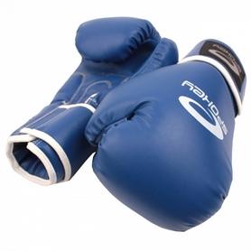 Фото 1 к товару Перчатки боксерские Spokey Benten синие