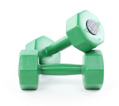 Гантели пластиковые Inter Atletika 2 шт по 3 кг