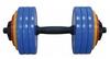 Гантель наборная Inter Atletika 18,82 кг цветная - фото 1