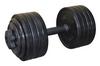 Гантель наборная Inter Atletika 23,82 кг черная - фото 1