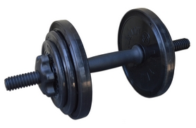 Фото 1 к товару Гантель наборная Inter Atletika 8,82 кг черная