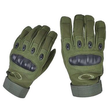 Перчатки тактические Oakley BC-4623-G темно-зеленые
