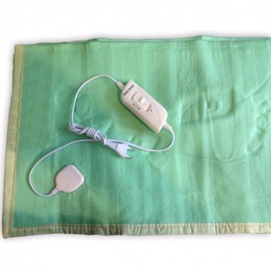 Электропростынь(электроодеяло) Electric Blanket полуторное зеленая