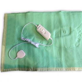 Электропростынь(электроодеяло) Electric Blanket двуспальное зеленая