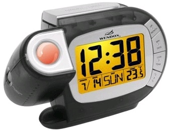 Часы проекционные Wendox W692L черные