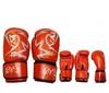 Перчатки боксерские Rival MA-3307-R кожаные красные - фото 1