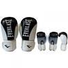 Перчатки боксерские Everlast BO-3626-BK кожаные черные - фото 1