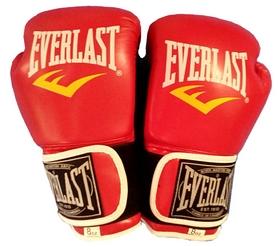 Фото 3 к товару Перчатки боксерские Everlast BO-3987-R красные