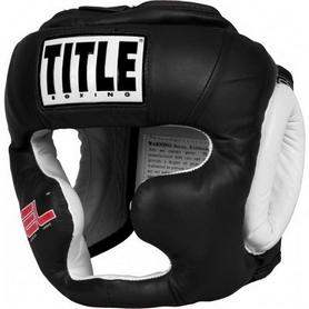 Шлем боксерский Title Gel World Full-Face Training Headgear