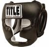 Шлем боксерский Title Pro Full Face Training Headgear черный - фото 1