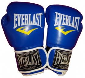 Перчатки боксерские Everlast BO-3987-B синие