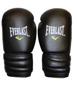 Перчатки боксерские Everlast MA-5018-BK черные - 10 oz