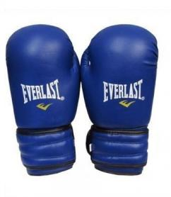 Перчатки боксерские Everlast MA-5018-B синие - 10 oz