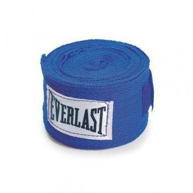 Бинты классические укороченные Everlast синие
