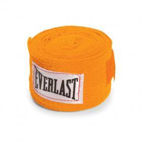 Фото 1 к товару Бинты классические укороченные Everlast оранжевые