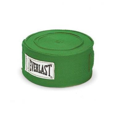 Бинты классические укороченные Everlast зеленые
