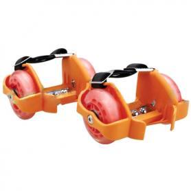 Распродажа*! Ролики на пятку Flashing Roller 80 кг оранжевые