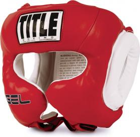 Шлем боксерский Title Gel World Traditional Training Headgear