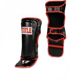 Фото 1 к товару  Защита голени взрослая Title Classic MMA Shin/Instep