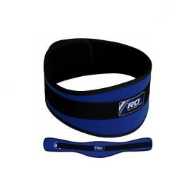 Фото 1 к товару Пояс для тяжелой атлетики RDX 20402 Blue
