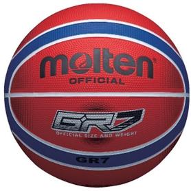 Фото 1 к товару Мяч баскетбольный резиновый Molten BGRХ7-RB