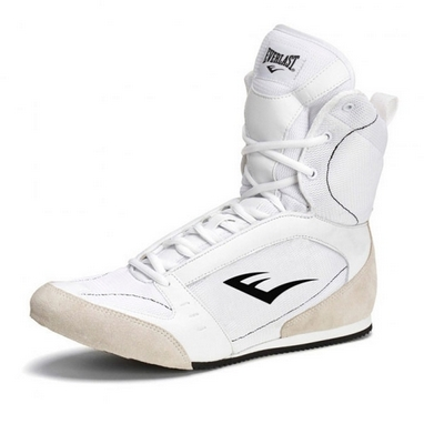 Боксерки Everlast High Top Boxing белые