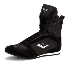 Боксерки Everlast High Top Boxing черные