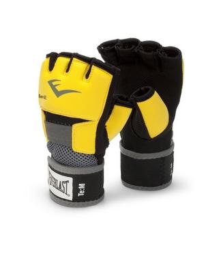 Перчатки тренировочные Everlast Evergel Hand Wraps желтые