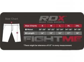 Фото 3 к товару Шорты для бокса RDX Pro 11317