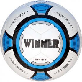 Мяч футбольный Winner Spirit белый с синим