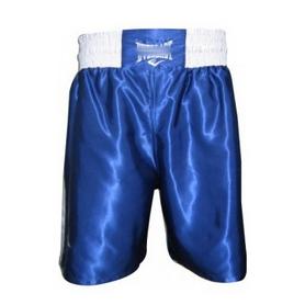 Распродажа*! Трусы боксерские Everlast МА-6009-B синие, размер - S