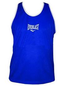 Распродажа*! Майка боксерская Everlast ULI-9015-B синяя - размер M