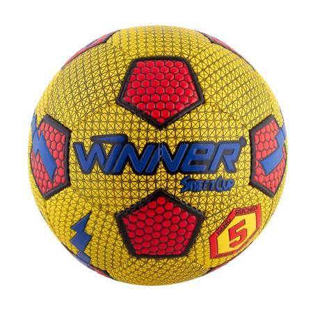 Мяч футбольный Winner Street Cup желтый с красным