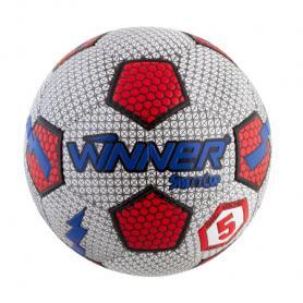 Фото 1 к товару Мяч футбольный Winner Street Cup серый с красным