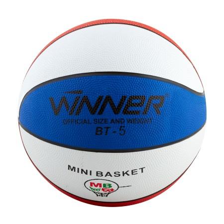 Мяч баскетбольный Winner Trikolor 6