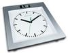 Весы напольные (стеклянные) Medisana 40436 с аналоговыми часами - фото 1