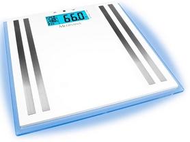 Фото 1 к товару Весы напольные (стеклянные) Medisana 40480  с подсветкой и функцией определения параметров тела