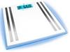 Весы напольные (стеклянные) Medisana 40480  с подсветкой и функцией определения параметров тела - фото 1