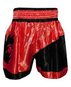 Фото 2 к товару Трусы для тайского бокса TWINS ZB-6138-R красные
