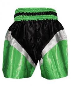 Фото 2 к товару Трусы для тайского бокса TWINS ZB-6142-G зеленые