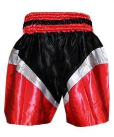 Фото 2 к товару Трусы для тайского бокса TWINS ZB-6142-R красные