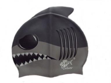 Шапочка для плавания детская Dolvor Shark
