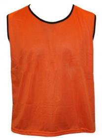 Накидка (манишка) тренировочная Soccer оранжевая