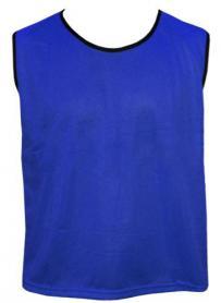 Накидка (манишка) тренировочная Soccer синяя