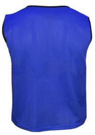 Фото 2 к товару Распродажа*! Накидка (манишка) тренировочная Soccer синяя