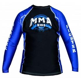 Рашгард детский Berserk MMA Kids blue - 4XS